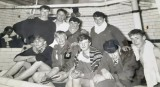 1965 - ANDREW LAYBOURN, ANSON SWIMMING TEAM, 170 AND 171 CLASS, GETTING AN EARLY BREAKFAST AFTERWARDS.jpg
