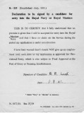 1961, 1ST MARCH - ROY LUCK, JOINING DECLARATION FORM.jpg
