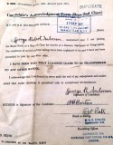 1952, 17TH SEPTEMBER - GEORGE SALMON, SIGNING ON FORM.jpg