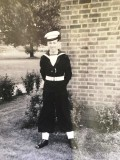 1957, 7TH MAY - DENIS WOODHAMS, 04 RECR., GRENVILLE, 17 MESS, AFTER GUARD DUTY.jpg