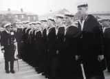 1964 - LESLIE HOWARD, 67 RECR., COLLINGWOOD, 35 CLASS, INSTR. P.O. ERNIE LUFF, SUNDAY DIVISIONS, CAPT. G. PLAICE, V.C.