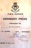 1970 - BILL 'DAISY' HISCOTT, HAWKE, 980 CLASS, COOKERY PRIZE.jpg