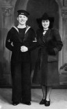 1934, 7TH MARCH - ALEXANDER ROBERTSON, COLLINGWOOD, 213-214 CLASSES, ON HIS WEDDING DAY NOVEMBER 1940 AFTER BECOMING A TAG, A