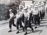 1970, 18TH MAY - PHIL TEESE, MARCHING FROM THE ANNEXE TO MAIN, 3..jpg