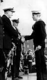 1970, OCTOBER - GARY LAYZELL, 21 RECR., DRAKE DIVISION, 12 MESS, RECEIVING RUGBY COLOURS.jpg