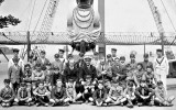 UNDATED - CHRIS THEOBALD, A VISIT AND 'SAIL AWAY' VISIT BY DOVERCOURT SCHOOL BOYS, A..jpg