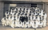 UNDATED - UNKNOWN CLASS WITH THEIR INSTRUCTORS, DONATED BY JIM WORLDING, 1..jpg