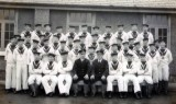 UNDATED - UNKNOWN CLASS WITH THEIR INSTRUCTORS, DONATED BY JIM WORLDING, 2..jpg
