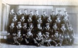 UNDATED - UNKNOWN CLASS WITH THEIR INSTRUCTORS, DONATED BY JIM WORLDING, 3..jpg