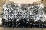 UNDATED - UNKNOWN DIVISION WITH THEIR OFFICERS AND INSTRUCTORS, DONATED BY JIM WORLDING.jpg