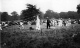 UNDATED - JIM WORLDING, RAISING SHEARLEGS AT AN OPEN DAY FETE, PROBABLY 1916.jpg