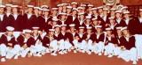 1972, 31ST MAY - NIGEL KENNEWELL, MAST MANNING TEAM, NOVEMBER POPPIES IN CAP TALLIES, I AM 3RD LEFT BOTTOM ROW.jpg