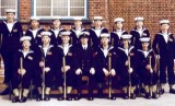 1975, 1ST APRIL - STEVE HART, INSTR. PO [REL] HOLMES, I AM FRONT ROW, 2ND FROM RIGHT.jpg