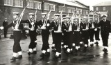 1966-67 - STEVE R.L. MULLINS, GRENVILLE, 134 CLASS, I'M FIRST ROW MIDDLE, INSTRUCTOR CHIEF ERA DUDLEY WITH NAYLOR OUT FRONT