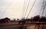 1996, 20TH APRIL - COMMEMORATIVE CEREMONY, COACHES ON THE PARADE GROUND.jpg