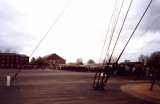 1996, 20TH APRIL, - COMMEMORATIVE CEREMONY, COACHES BEING LOADED ON THE PARADE GROUND.jpg