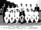 1961, NOVEMBER - DAVID BRIGHTON, 45 RECR., COLLINGWOOD, 43 MESS, 391 CLASS, COLLINGWOOD CRICKET TEAM 1962.jpg