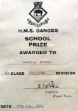 1964, SEPTEMBER - GEOFFREY BRIDGE, FROBISHER, 761 CLASS, SCHOOL PRIZE.jpg