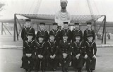 1950, 7TH JULY - ARTHUR DUFF, PASSING OUT PHOTO, I AM 1ST LEFT, FRONT ROW, 5..jpg
