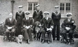 UNDATED - SOME OFFICERS, INSTRUCTOR BOYS AND A REGULATING PETTY OFFICER.jpg