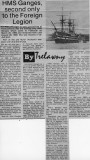 1990, 27TH FEBRUARY - DICKIE DOYLE, GANGES, AFLOAT AND ASHORE, FROM A NEWSPARER 'THE LEADER'.jpg