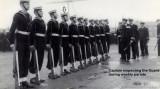 1958, JUNE - JOHN FORDHAM, CAPTAIN INSPECTING GUARD.jpeg