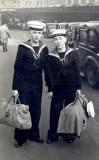 1964 - MICHAEL LUKE, WITH TERRY STONE AT EUSTON STATION.jpg