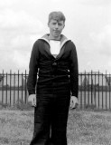 1964, 4TH MAY -  LAURIE MULLEN, UNKNOWN JUNIOR INSTRUCTOR.jpg
