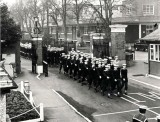 1973, FEBRUARY - MUSEUM, 41 RECR., THE LAST BOYS RECRUITMENT MARCHING THROUGH THE MAIN GATES.jpg