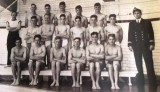 1953c - BARRY WELLS, COLLINGWOOD, SWIMMING TEAM.jpg
