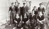 1959 - BOB OWENS, CUTTER CREW, INCLUDES JOHN WHITEHEAD IN WHITE JUMPER AND PO TAFF WILLIAMS.jpg