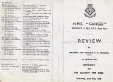 1950 - DICKIE DOYLE, PROGRAMME FOR KING'S BIRTHDAY REVIEW, I WAS IN No.12 PLATOON, A..jpg