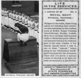 1938 - JIM WORLDING, CIGARETTE CARD - PHYSICAL TRAINING ASHORE.jpg