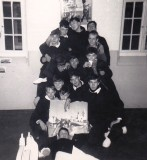 1966 - KEVIN GOBLE, DUNCAN, 77 CLASS, SOME OF US IN THE MESS.jpg