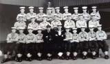 1959, 6TH OCTOBER - TONY PORTER,  26 RECR., ANNXEE, INSTR. CPO WEST, I AM 2ND FROM RIGHT, CENTRE ROW.jpg