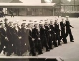 1972- BILLY MORGAN, 31 RECR., ANNEXE MARCH PAST, I AM THE ONE SWINGING ARM SHOULDER HIGH.jpg