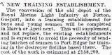 1905-2005 - DICKIE DOYLE, PRESS CUTTINGS RE. GANGES, BOYS TRAINING, THEIR PAY AND CONDITIONS ETC., TIMES 01.05.1926.jpg