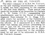 1905-2005 - DICKIE DOYLE, PRESS CUTTINGS RE. GANGES, BOYS TRAINING, THEIR PAY AND CONDITIONS ETC., TIMES 09.06.1927.jpg