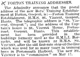 1905-2005 - DICKIE DOYLE, PRESS CUTTINGS RE. GANGES, BOYS TRAINING, THEIR PAY AND CONDITIONS ETC., TIMES 16.02.1927.jpg