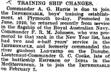 1905-2005 - DICKIE DOYLE, PRESS CUTTINGS RE. GANGES, BOYS TRAINING, THEIR PAY AND CONDITIONS ETC., TIMES 23.01.1925.jpg