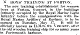 1905-2005 - DICKIE DOYLE, PRESS CUTTINGS RE. GANGES, BOYS TRAINING, THEIR PAY AND CONDITIONS ETC., TIMES 25.01.1927.jpg