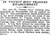 1905-2005 - DICKIE DOYLE, PRESS CUTTINGS RE. GANGES, BOYS TRAINING, THEIR PAY AND CONDITIONS ETC., TIMES 25.03.1927.jpg