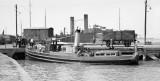 1934, JULY - HMS GANGES' TENDER AT PARKSTONE QUAY.jpg