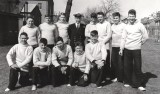 1957, JULY - ALEC WALLINGTON, HAWKE, 48 MESS, COXSWAINS, SEE BELOW FOR NAMES.jpg
