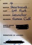 1974, 19TH NOVEMBER - JOHN YOUNG, LEANDER, STATION CARD, 04..jpg