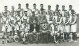 1953, 17TH MARCH - THOMAS MARTIN R. HYDE, GANGES HOCKEY TEAM ON LEFT, VISITIORS ON RIGHT, I AM 3RD FROM LEFT, BACK ROW,  4.