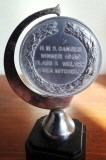 1960, 3RD MAY - GEORGE MITCHELL, BOXING TROPHY, DETAILS ON IT, A..jpg