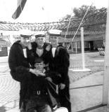 1966-67 - ANDY PATON, 93 ECR,. FROBISHER, 36 MESS, KEN DUNN, ME, GEORGE DAWSON, JIM SCOTT..jpg