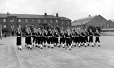 1954, JANUARY - MIKE MARGARY, ANSON DIVISION, 372 CLASS. GUARD MARCH PAST..jpg