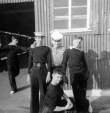 1964, OCTOBER - COLIN RICHARDSON, EXMOUTH, 41 MESS, COLIN ON THE RIGHT WITH MESS MATES.jpg